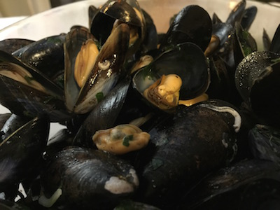 how to cook black mussels