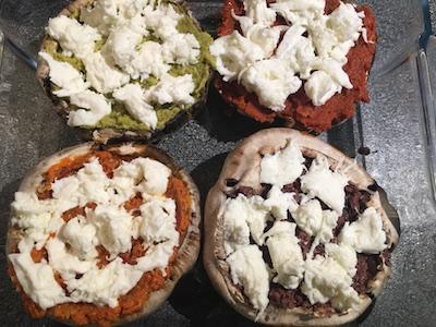 Portobello Mushroom Pizza 03