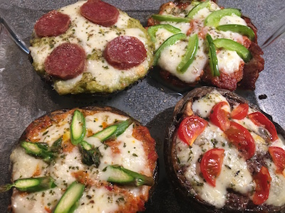 Portobello Mushroom Pizza 10