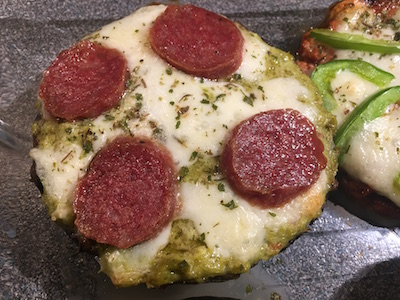 Portobello Mushroom Pizza 13