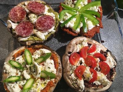 Portobello Mushroom Pizza 37
