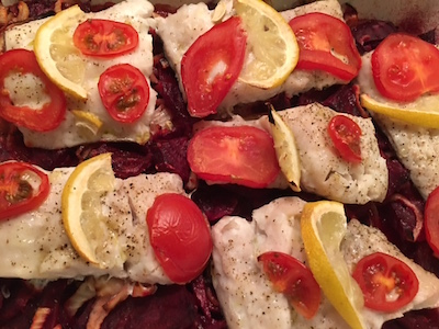 Hake and Beetroot 03