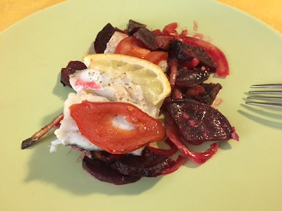 Hake and Beetroot 06