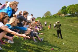 Eggs Rolling Race