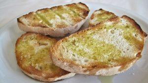 Garlic Patè Bruschetta