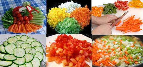 vegetables and how to cook different ones