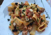 pasta_gragnano_calamari_recipe_fresh_tuna_olive_crumbs_marinated_tuna_tomatoes