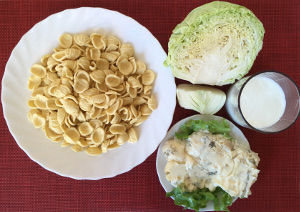 taste_with_gusto_recipe_pasta_cabbage_gorgonzola_ingredients