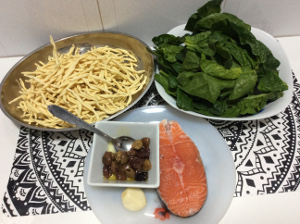 Pasta_salmon_olives_spinach_recipe_taste_with_gusto_ingredients