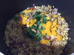 Cereals_legumes_pumpkin_pecorino_cheese_olives_sundried_tomato_cooked_add_