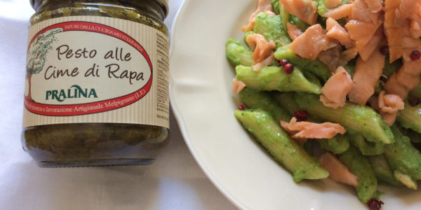 feat_bf_2_pasta_with_cime_di_rapa_pesto_turnip_tops_salmon_pink_pepper