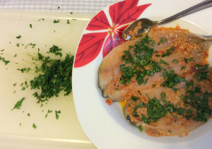 Mackerel_with_Cannonata_and_herbs_add_minced_herbs